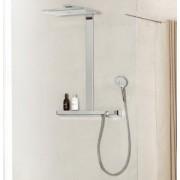 Set de dus Hansgrohe gama Rainmaker Select 460, 3 functii Showerpipe, EcoSmart