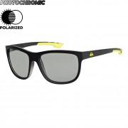 Quiksilver Sluneční brýle Quiksilver Crusader Polar Photochromic matte black hexa print