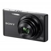 Sony Cybershot DSC-W830 compact camera Zwart