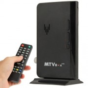 Global Mini LCD TV Receiver Box Digital Computer VGA TV Programs Tuner Receiver Dongle Monitor Model: 775