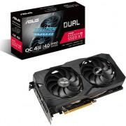 Placa Video ASUS DUAL Radeon RX 5500 XT EVO OC Edition 4GB GDDR6