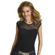 Paulina női trikó, fekete S
