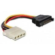 CC-SATA-PS-M Gembird SATA (male) to Molex (female) power cable, 0.15 m (73ky)