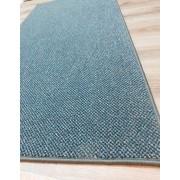 Kókusz lábtörlő Welkome Star hosszú Black, 26x75cm/Cikksz:111094