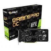 VGA Palit RTX 2060 GamingPro OC, nVidia GeForce RTX 2060, 6GB, do 1830MHz, 36mj (NE62060T18J9-1062A)