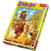 Puzzle maxi Peripetii cu Scooby Doo in Egipt, 24 piese
