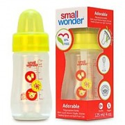 Small Wonder BPA Free Adorable Baby Feeding Bottle 125 ml