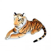 """KateDy Stuffed Animal Tiger Plush Toy for Baby Kids Adults,Cute Cat Stuff Toy Wild Animals Shadow Plushie Tiger 12"""" Height ,Amazon Best Sale,Great Gift For Home,Office,Nursery Decoration"""