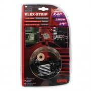 Banda ornament Flex Strip, 24V - 60 LED - 150 cm - Rosu