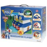 rocco giocattoli Poli Quartier Generale Playset
