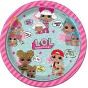 Piatti LOL Surprise Grandi per Festa Compleanno Bambina a Tema LOL
