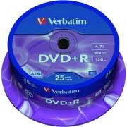 DVD+R 4.7 GB Spindle 25/set Verbatim