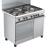 Bompani BO953CA/L cucina a gas, estetica inox, di 90x60 cm