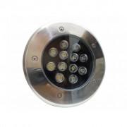 Silamp Spot LED Extérieur Encastrable IP65 220V Sol 12W 60 - couleur eclairage : Blanc Froid 6000K - 8000K