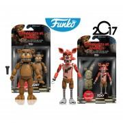 Freddy Y Foxy Articulados Funko Pop Videojuego Five Nights At Freddys Fnaf