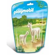Alpaca cu pui City Life Zoo Playmobil