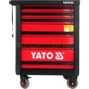 Yato Szerszámos kocsi 6 fiókos (üres) (YT-0902)