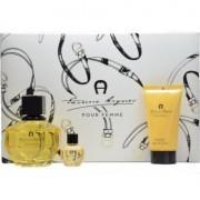 Etienne Aigner Pour Femme Комплект (EDP 100ml + EDP 6ml + BL 50ml) за Жени