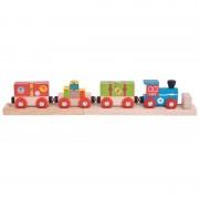 Trenuletul aeroportului, 3 vagoane, 2 sine de cale ferata, 27 cm