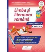 Limba si literatura romana - Clasa 3 - Teorie si exercitii - Iliana Dumitrescu Nicoleta Ciobanu
