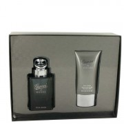 Gucci Eau De Toilette Spray 3 oz / 88.72 mL + After Shave Balm 2.5 oz / 73.93 mL Gift Set Men's Fragrance 461715