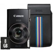 """Canon IXUS 285 czarny """"Essential Kit"""""""