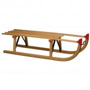 Nijdam trenó de madeira Davos 100 cm 0273