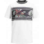 Jack & Jones Meshleaf T-Shirt, Cloud Dancer 152
