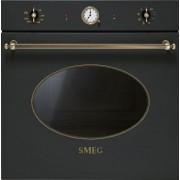 Cuptor incorporabil Smeg Coloniale SFP805AO, electric, multifunctional, 60cm,rotisor, negru antracit, piroliza