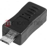 Accesoriu laptop tracer Micro USB-Mini USB negru (TRAKBK43611)