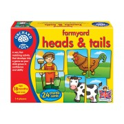 Farmyard Heads and Tails Game by Orchard Toys