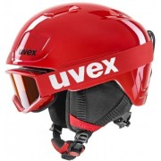 UVEX Heyya Set (Speedy Pro Red) Red Black 46-50 cm 20/21