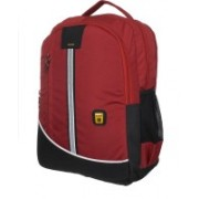 Blowzy 15.6 inch Expandable Laptop Backpack(Red)