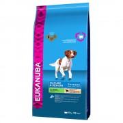 2x12 кг Mature & Senior Medium Breed Eukanuba суха храна за кучета - агнешко и ориз