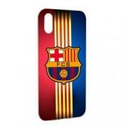 Husa de protectie Football Barcelona pentru Apple iPhone XS / X Silicon W237
