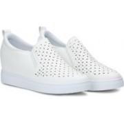 GOSPEL 666 Slip On Sneakers For Women(White)