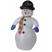 Opblaasbare sneeuwpop 180 cm