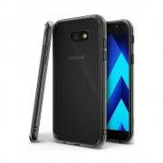 Husa Samsung Galaxy A3 2017 Ringke FUSION SMOKE BLACK + BONUS folie protectie spate Ringke