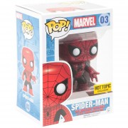 Funko Pop Spiderman Exclusivo Red And Black Suit Marvel-Multicolor