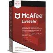 McAfee LiveSafe 2020 1 Device 1 Year