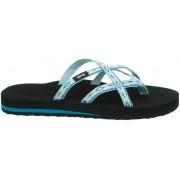 Teva Olowahu Sandals Women Sari Ribbon Gray Mist 2019 US 10 EU 41 Sandaler