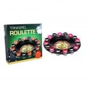 Merkloos Drankspel / drinkspel shot roulette 29 cm