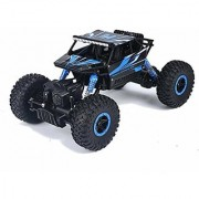 SZJJX RC Rock Off-Road Vehicle 2.4Ghz 4WD High Speed 1:18 Racing Cars RC Cars Remote Radio Control Cars Electric Rock Crawler Electric Buggy Hobby Car Fast Race Crawler Truck-Blue