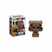 Funko Pop Lockjaw Flocked Nycc 2017 Comic Con Sticker Limited Inhumans Textura Terciopelo