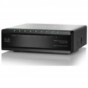 Суич CISCO SLM2008PT-EU SG 200-08P 8-port Gigabit PoE Smart Switch