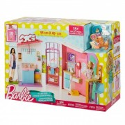 Barbie Salonul veterinar FBR36 Set de joaca (93x40cm)