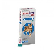 Bravecto Plus For Medium Cats 250 Mg (6.2 To 13.75 Lbs) Blue 2 Doses