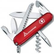 VICTORINOX | Nůž kapesní CAMPER + nápis 91mm ČERVENÝ