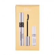 Christian Dior Diorshow Iconic Overcurl tonalità 090 Over Black confezione regalo mascara 10 ml + base 3D Maximizer 4 ml donna