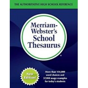 Merriam-Webster's School Thesaurus, Hardcover/Merriam-Webster